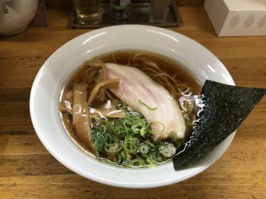 【鶴ヶ島】麺屋信玄の和風らーめんはアッサリなのにコクが深い